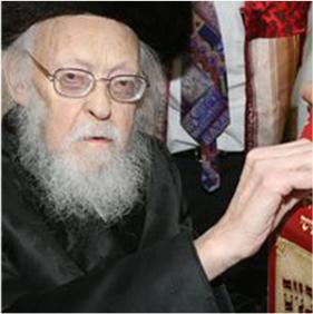 Notre Maitre le Gaon Rav Y. C. Elaychiv Zatsal
