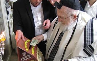 Notre Maitre le Gaon Rav H. P. Sheinberg Zatsal