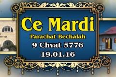 Bechalah5776